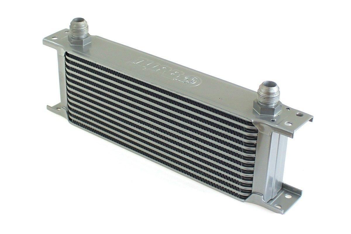 Chłodnica Oleju TurboWorks 13-rzędowa 260x100x50 AN8 silver - GRUBYGARAGE - Sklep Tuningowy